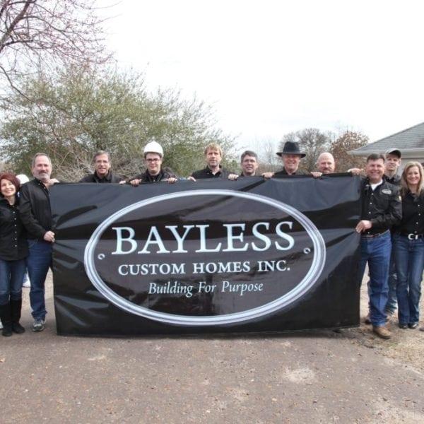 Bayless Custom Homes - Custom Home Builder Tyler TX - Extreme Home Makeover 5
