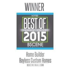 Bayless Custom Homes - Best of 2015 B scene - Award Winning Custom Homes Builder