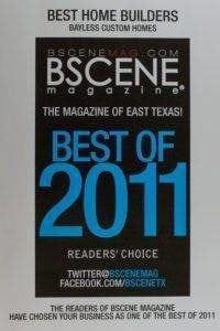Bscene Best of 2011 - Custom Home Builder Tyler